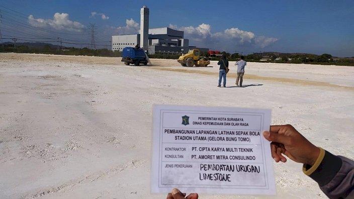 Target Rampung Desember, Pembangunan 3 Lapangan Latihan Piala Dunia U-20 di Surabaya