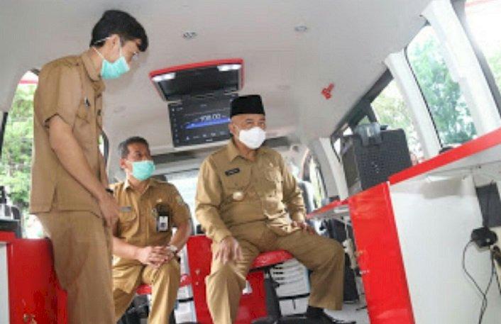 Bupati Malang Launching Mobil Pelayanan Kliat Adminduk