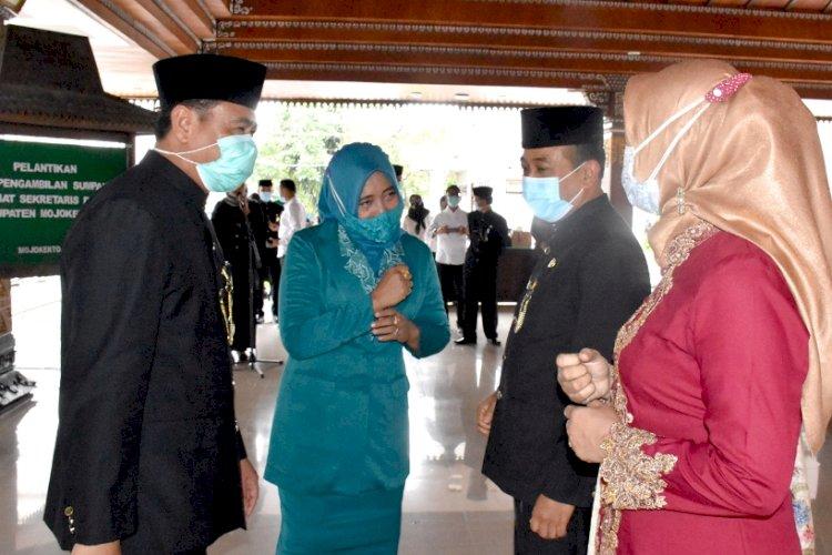 Didik Chusnul Yakin Dilantik sebagai Penjabat Sekdakab Mojokerto